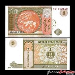 MONGOLIE - Billet de 1 Tögrög - 2008 P61Aa