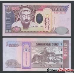 MONGOLIE - Billet de 5000 Tögrög - 2013
