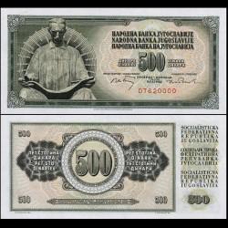 YOUGOSLAVIE - Billet de 500 Dinara - Nikola Tesla - 1970