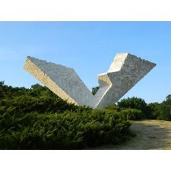 YOUGOSLAVIE - Billet de 200 Dinara - Monument aux partisans - 1990