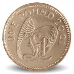 GUERNESEY (île de) - PIECE de 1 Pound - 2001 Km#110