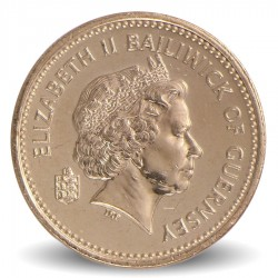GUERNESEY (île de) - PIECE de 1 Pound - 2001