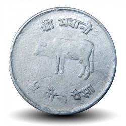 NEPAL - PIECE de 5 Paisa - Vache sacrée - 1978 - २०३५