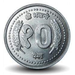 NEPAL - PIECE de 10 Paisa - 2000 - २०५७
