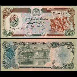 AFGHANISTAN - Billet de 500 Afghanis - 1990 P60b