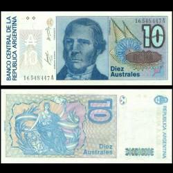 ARGENTINE - Billet de 10 Australes - 1985-1989 P325a
