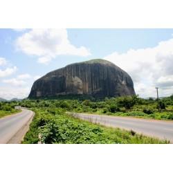 NIGERIA - Billet de 100 Naira - Zuma Rock - 2011