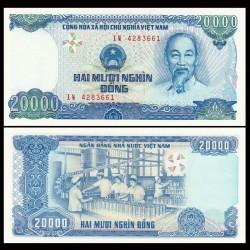 VIETNAM - Billet de 20000 Dong - Conserverie - 1991