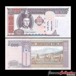 MONGOLIE - Billet de 100 Tögrög - 2014