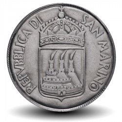 SAINT-MARIN - PIECE de 50 Lires - La Justice - 1973