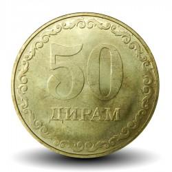 TADJIKISTAN - PIECE de 50 Diram - 2019 Km#New