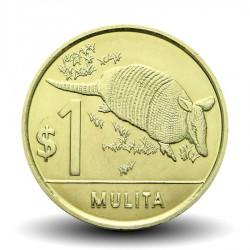 URUGUAY - PIECE de 1 Peso - Mulita /Famille Du Tatou - 2012 Km#135