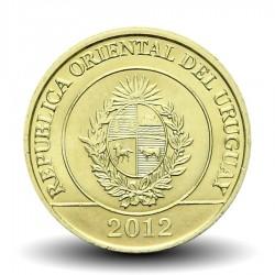 URUGUAY - PIECE de 2 Pesos - Carpincho (Rongeur) - 2012