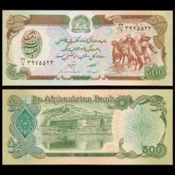 AFGHANISTAN - Billet de 500 Afghanis - 1979 P60a