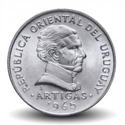 URUGUAY - PIECE de 50 Centésimos - Général José Gervasio Artigas - 1965