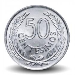 URUGUAY - PIECE de 50 Centésimos - Général José Gervasio Artigas - 1965 Km#45