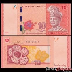 MALAISIE - Billet de 10 Ringgit - 2011