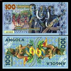 UNION AFRICAINE SUB SAHARIENNE - Billet de 100 SHILLINGS - ANGOLA - 2019 uass100