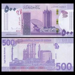 SOUDAN - BILLET de 500 Livres Soudanaise - 2019