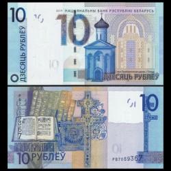 BIÉLORUSSIE - Billet de 10 Roubles - 2009 / 2016