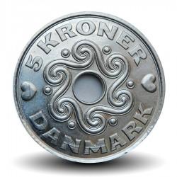 DANEMARK - PIECE de 5 Kroner / 5 Couronnes Danoises - 2017