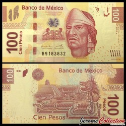 MEXIQUE - Billet de 100 Pesos - 2013