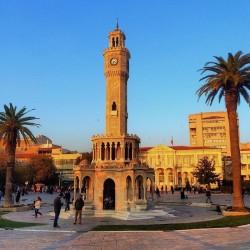 TURQUIE - Billet de 500 Livre turque - Tour de l'horloge, Izmir - 1983