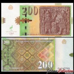 MACEDOINE DU NORD - Billet de 200 Denari - 2016 P23a