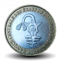 AFRIQUE DE L'OUEST (BEAO) - PIECE de 500 Francs - Cabosses de cacao - Bimétal - 2010