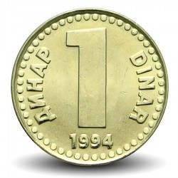 YOUGOSLAVIE - PIECE de 1 Dinar - 1994