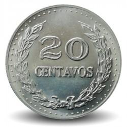 COLOMBIE - PIECE de 20 Centavos - Francisco de Paula Santander - 1971