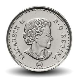 CANADA - 10 CENTS - Elizabeth II - Goélette Le Bluenose - 2015
