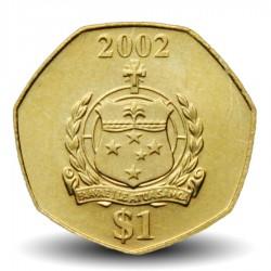 SAMOA - PIECE de 1 Tala - Malietoa Tanumafili II - 2002