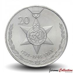 AUSTRALIE - PIECE de 20 CENTS - Médaille 1939 / 1945 Star - 2017
