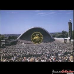 ESTONIE - PIECE de 1 KROON - XXIII concours de chant Estonien - 1999 Km#36