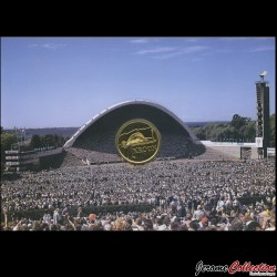 ESTONIE - PIECE de 1 KROON - XXIII concours de chant Estonien - 1999
