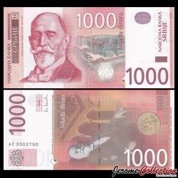 SERBIE - Billet de 1000 Dinara - Đorđe Vajfert - 2003 P44b