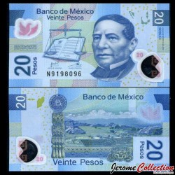 MEXIQUE - BILLET de 20 Pesos - Polymer - 2016