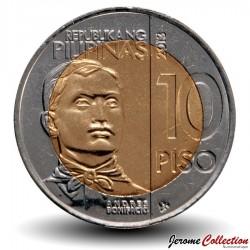 PHILIPPINES - PIECE de 10 Piso - Andrés Bonifacio - 2013 Km#285