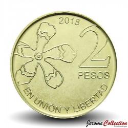 ARGENTINE - PIECE de 2 Pesos - Arbre Palo Borracho - 2018
