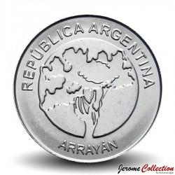 ARGENTINE - PIECE de 5 Pesos - Arbre Palo Borracho - 2017