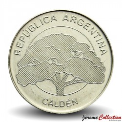 ARGENTINE - PIECE de 10 Pesos - Arbre Calden - 2018