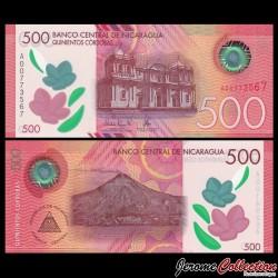 NICARAGUA - Billet de 500 Córdobas - Polymer - 2017 / 2019