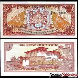 BHOUTAN - Billet de 2 Ngultrum - Rinpung Dzong - 1985