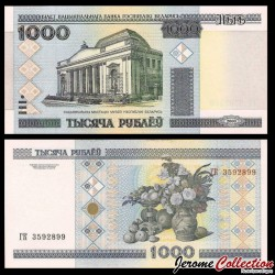 BIÉLORUSSIE - Billet de 1000 Roubles - 2000