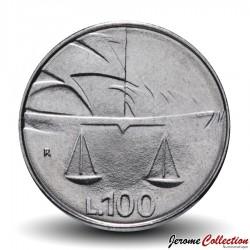 SAINT-MARIN - PIECE de 100 Lires - La Justice - 1990 Km#254