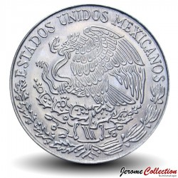 MEXIQUE - PIECE de 5 Pesos - Vicente Guerrero -1971