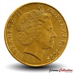 AUSTRALIE - PIECE de 1 DOLLAR - Kangourous - 2009