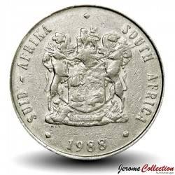 AFRIQUE DU SUD - PIECE de 1 Rand - Springbok - 1984