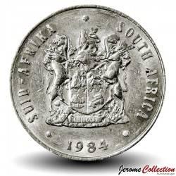 AFRIQUE DU SUD - PIECE de 10 Cents - Aloe véra - 1984